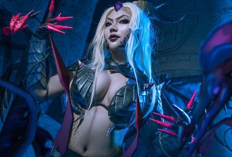 英雄联盟玩家COS系列美图:婕拉 驯龙女巫