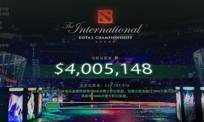 为什么DOTA2玩家持续下滑,TI奖金却不断上扬?