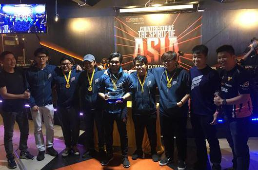 CSGO亚洲公开赛完美落幕 冠军FrostFire采访