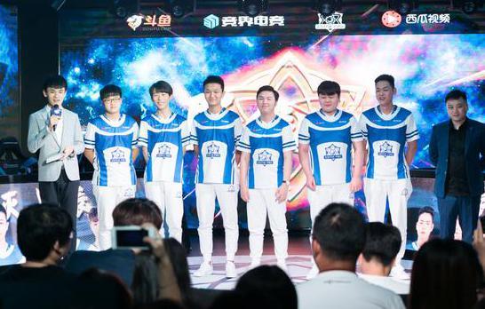 亚运冠军助阵 不灭星辰eStar新赛季全新起航!