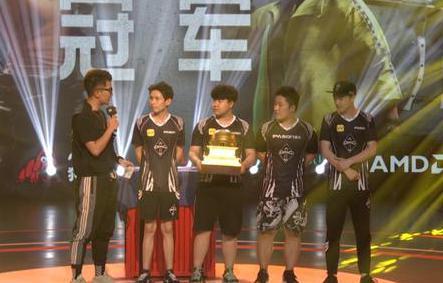 OMG战队以1235分优势夺得QSL全明星锦标赛总冠军