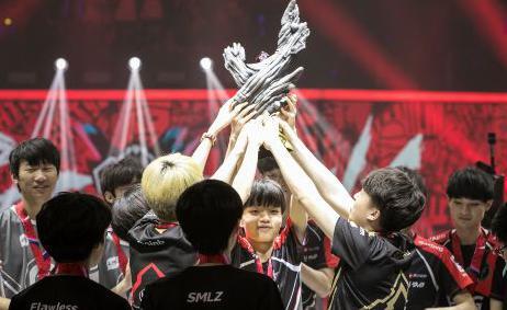中国电竞战队再夺国际赛事亚洲总冠军