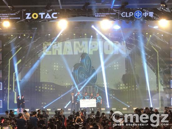 北美队伍C9夺得冠军