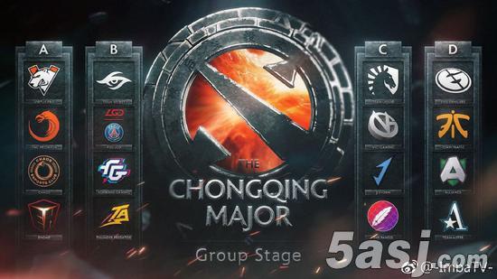 重庆Major小组赛:中国队分列四组避开内战