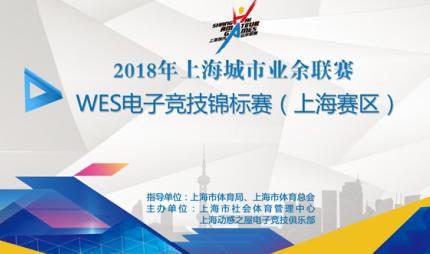 2018-2019WES电子竞技锦标赛(上海赛区)报名