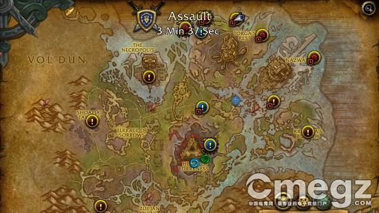 《魔兽世界》8.1复仇之潮内容预览 阵营突袭