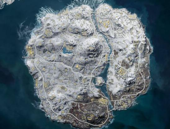 最全《绝地求生》新地图详情曝光 6X6的中型地图