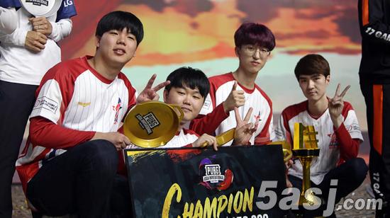 2019绝地求生亚洲邀请赛,韩国Actoz荣誉夺冠!