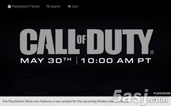 PS4或将不再有《使命召唤》新作优先独占权